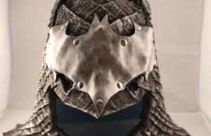 Custom-Made Medieval Batman Cowl