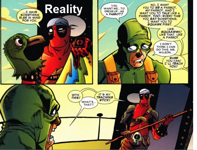 Deadpool's Funniest Comic Strips