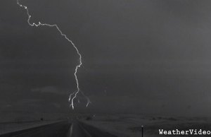 Lightning Storm Captured in Super Slow Motion