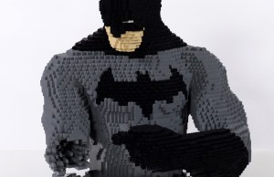 Full-Sized LEGO DC Comics Characters