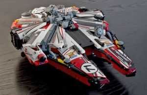Custom Made LEGO Millennium Falcon