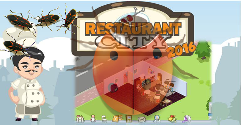 Restaurant City 2016's Bugs So Far, Solved and Unsolved