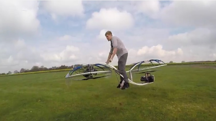 Colin Furze Created An Awesome Hoverbike!