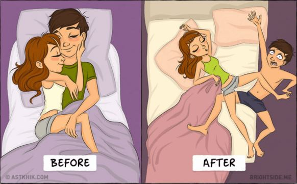 9 Differences Life Before and After Marriage