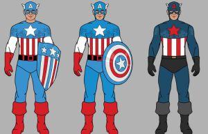 Evolution Of Captain America