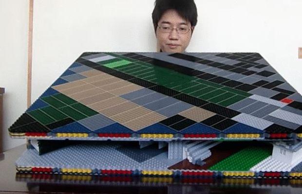 Lego Pop-Up Himeji Castle