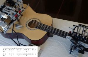 Automatic Guitar Strumming Robot