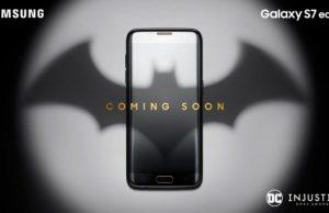 Batman Themed Samsung Galaxy S7 Edge