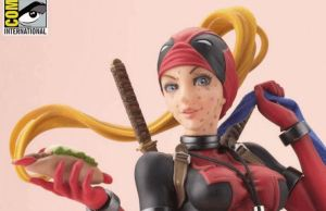 Lady Deadpool Statue