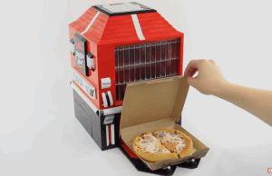 Awesome Personal Pan Dispensing LEGO Machine