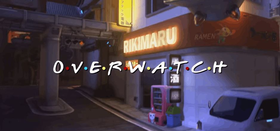 'Overwatch' Mashed Up Into 'Friends'