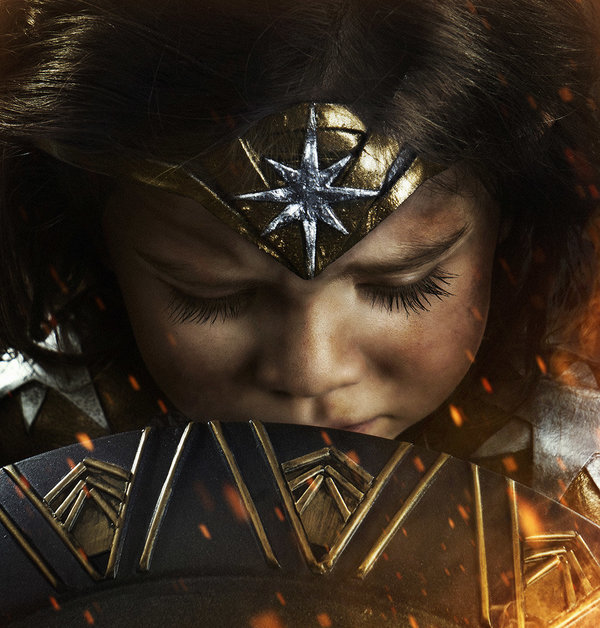 Most Fiercest 3-Year-Old Wonder Woman Ever