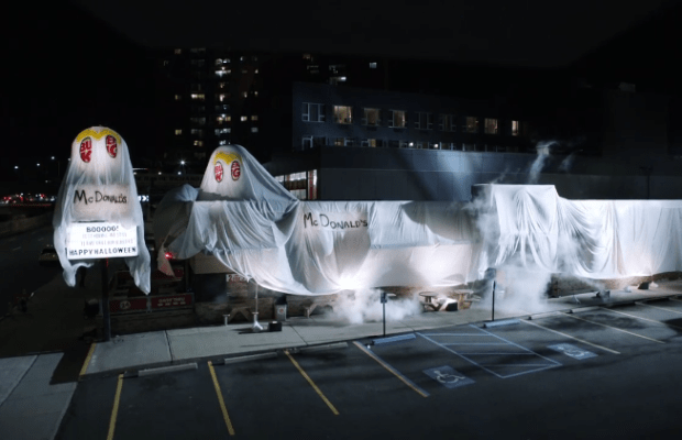 Burger King Disguised Their Restaurant As the Ghost of McDonald's
