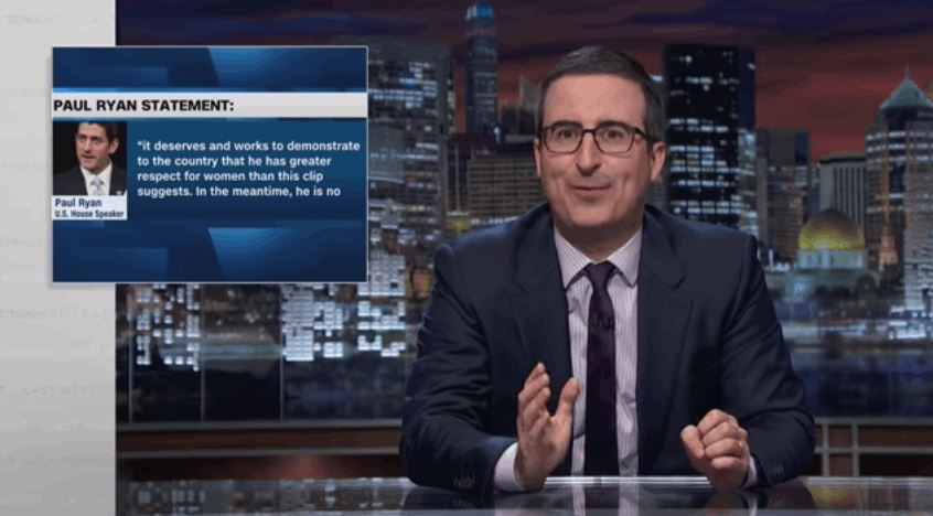 Republican Reactions to Trump's Lewd Remarks - John Oliver Edition