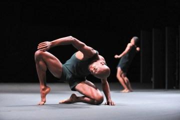 "Batsheva Dance Company in ""Last Work."" Image Gadi Dagon"