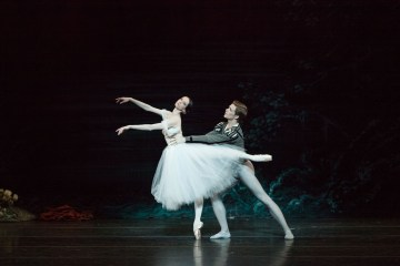 Svetlana Lunkina and Harrison James in Giselle. Photo by Aleksandar Antonijevic
