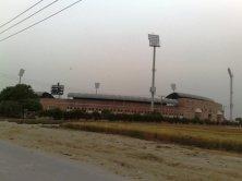 Multan Cricket Stadium view from Nayab city main gate on statdium road