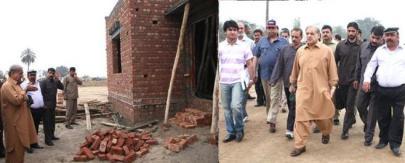 Shahbaz Sharif Visiting Aashyana Housing Lahore & Bhatta Chowk Project