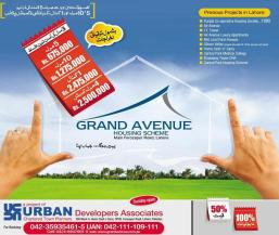 Grand Avenue Housing Scheme Lahore