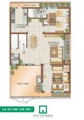 Bungalow 160 sq yards One Unit Ground Floor