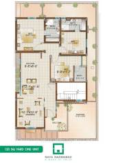 Bungalow 240 sq yards Double Story First Floor