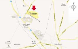 KDC Garden Jhelum - Location Plan