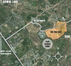 Location Map - PHA Kuri Road Islamabad Housing Project