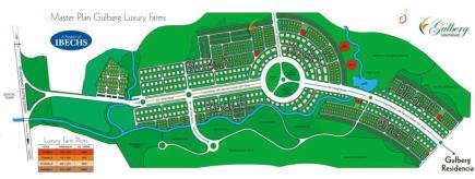 Master Plan Gulberg Luxury Farms Islamabad