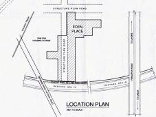 Eden Eden Place Housing Scheme Lahore - Location Plan
