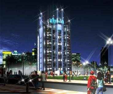 Defense Execitive Apartment Islamabad - Conceptual View