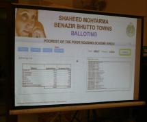 Benazir Town plots balloting Results in Karachi (1)