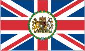 Diplomatic Service Flag (eg. British Embassy)