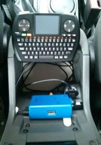 Raspberry Pi and mini keyboard