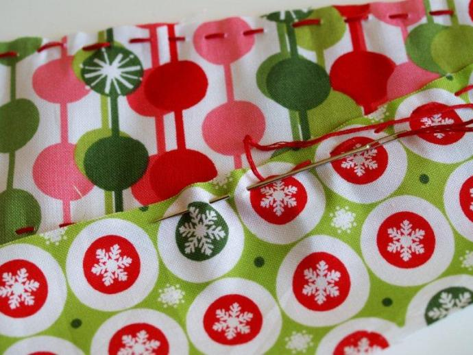Stitching Candy Labels