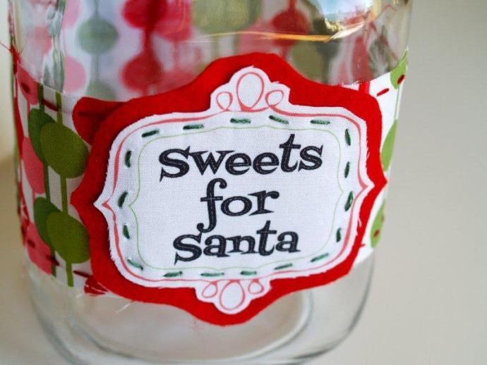 Santa Candy Labels