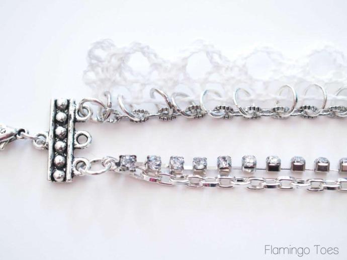 Rhinestones and Chain