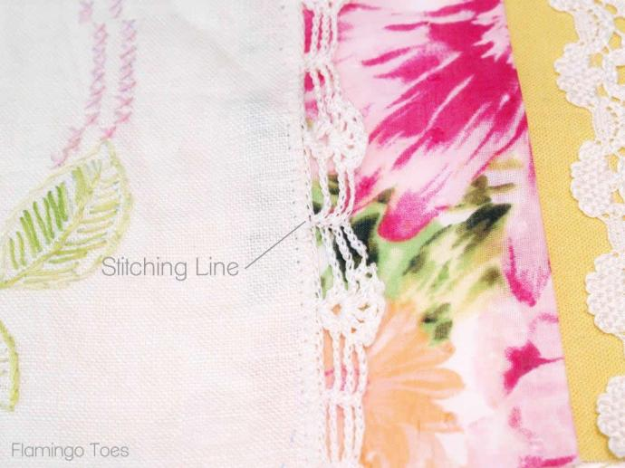Sewing Linen to Fabric
