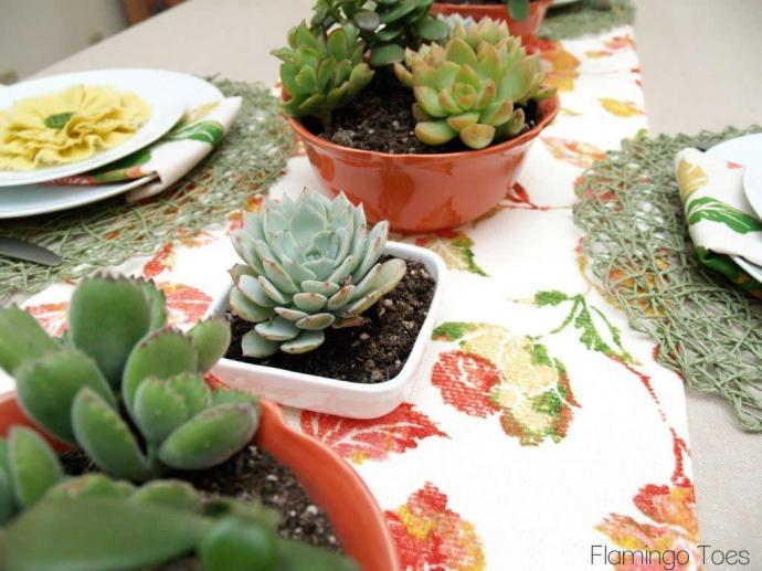 Spring Table Display