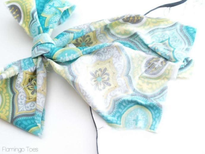 Fabric Bow Hanger