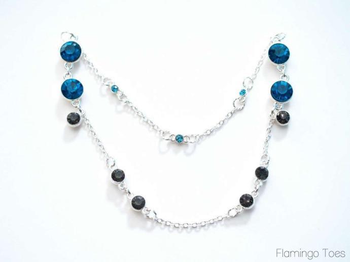 necklace rhinestones