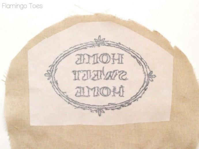 wonder under embroidery