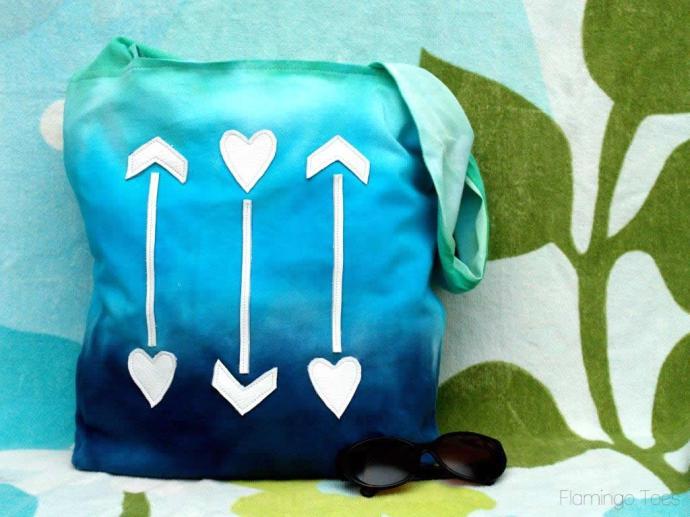 Ombre Beach Bag (2)