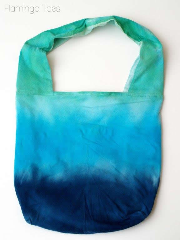 washed tote bag