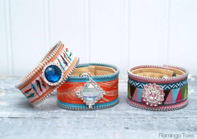 Ribbon Bracelets DIY