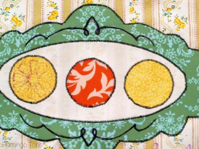 dishtowel embroidery