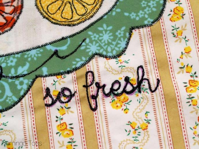 free motion embroidery DIY