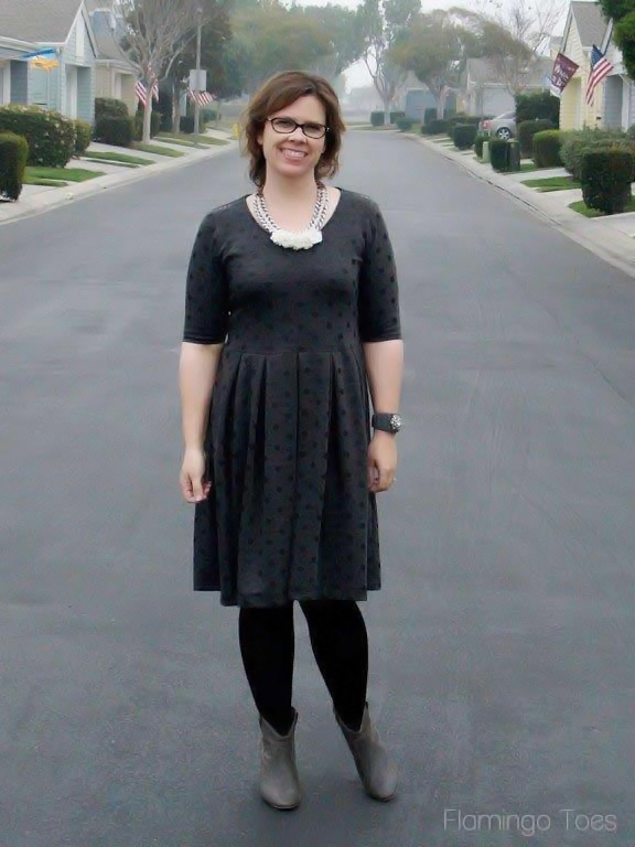 Sew Our Stash Penelope Peplum Dress