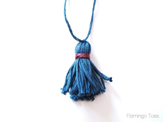 Mini Embroidery Thread Tassel
