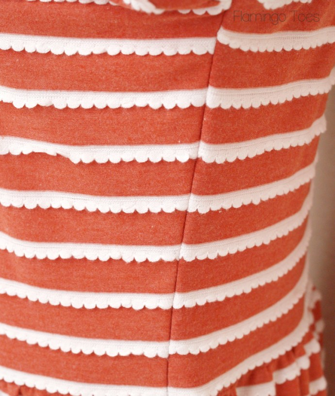 matched stripes
