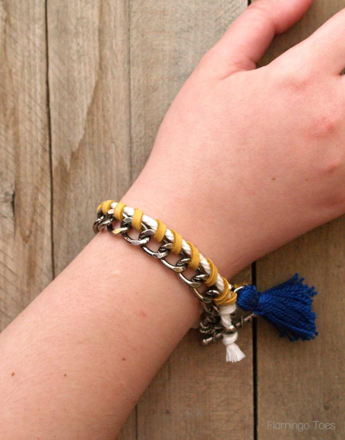 Anthropologie Knockoff Chain Bracelet